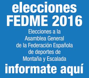 Elecciones Fedme 2016