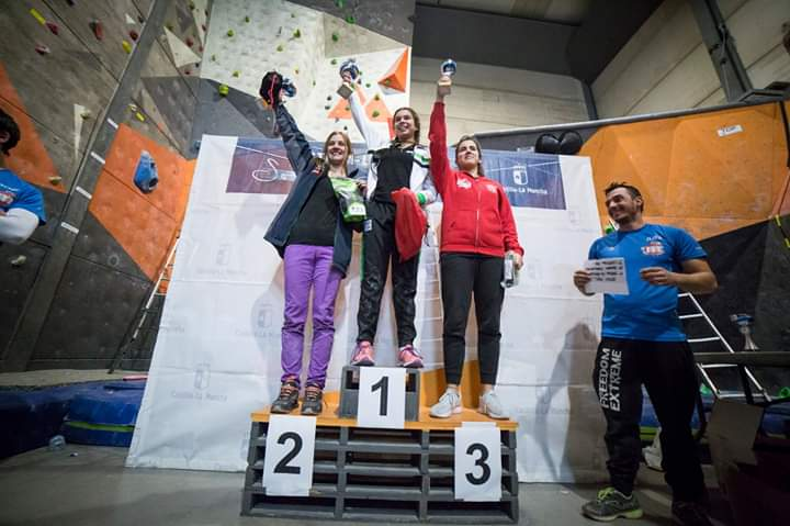 Podium Final Absoluto Femenina