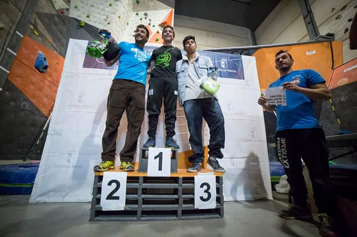 Podium Final Absoluto masculino